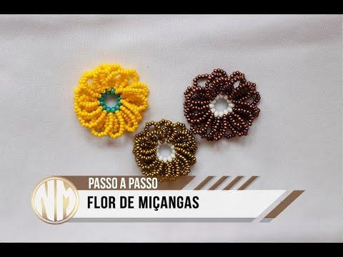 NM Bijoux - Flor de Miçangas