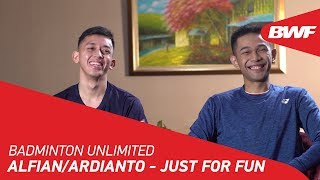 Badminton Unlimited | Alfian/Ardianto - JUST FOR F...
