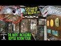 THE MOST INCREDIBLE REPTILE ROOM TOUR! (Camo's Reptiles, Australia)