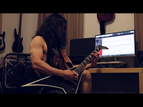 """The Haunted - """"All Against All"""" (Cover) - Jackson JS32T Rhoads"""