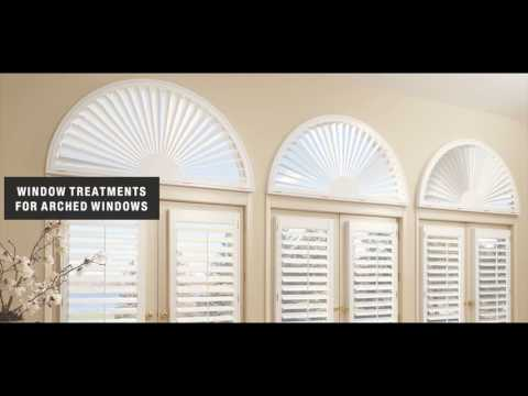 Arched Window Blinds Faux Wood for Home Ideas YouTube
