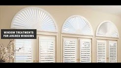 Arched Window Blinds Faux Wood for Home Ideas