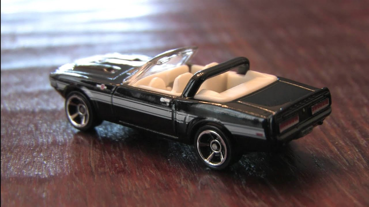 Black 69 Shelby Gt 500 Hot Wheels Review By Cgr Garage