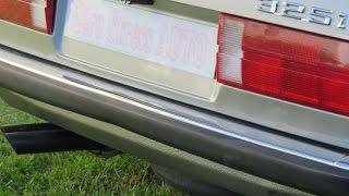 Engine Sound BMW 325i E30 youngtimer son moteur M20 6 cylindres zerostressautos zsa