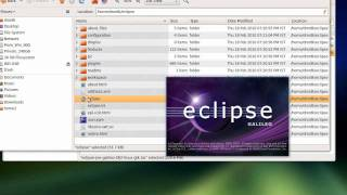 Install Eclipse JAVA development IDE on Ubuntu Linux, writing a Java hello world app