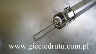 Gięcie drutu CNC - produkcja szpilek do agrowłókniny - www.gieciedrutu.com.pl