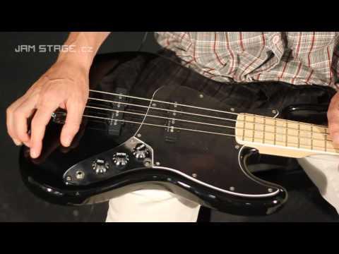 Squier Vintage Modified Jazz Bass '77 Black Maple