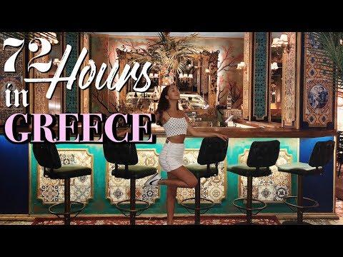 72 Hours in GREECE...