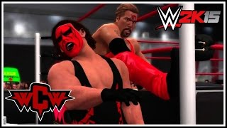 WWE 2K15 - The nWo Wolfpac Battle At WCW Nitro! (WWE 2K15 Table Match Gameplay)