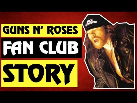 Guns N' Roses: Fan Club Items Old School Cool