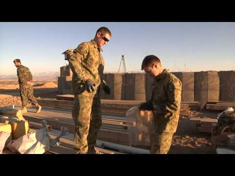 Australian Defence Force and Afghan National Army partners find large IED cache in Uruzgan Province