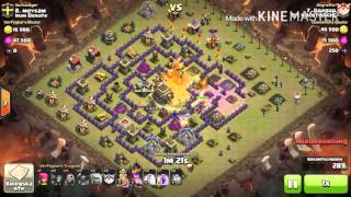 Clash of Clans 3 Sterne GoWiPe Angriff Rh 9