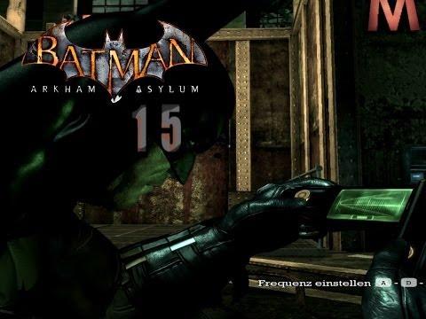 Let's Play BATMAN - ARKHAM ASYLUM [HD] #15 - Code Cracker Zeit