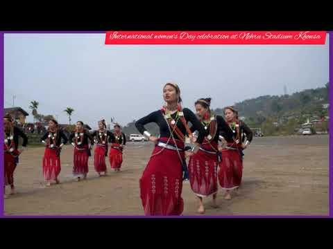 International women's Day celebration at Nehru Stadium Khonsa Tirap District Arunachal Pradesh 2019