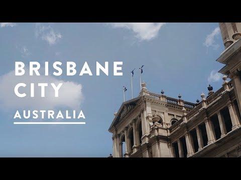BRISBANE CITY CBD AUSTRALIA VLOG |  Queensland, Australia Travel Vlog 033, 2017