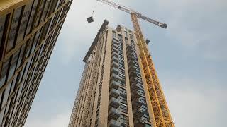 Монтаж балконов заводского изготовления с Schöck BALQOON®
