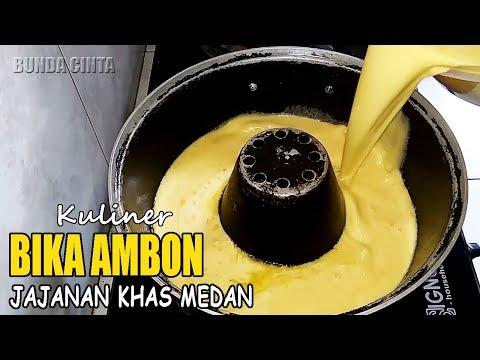 Resep Bika Ambon Baking Pan Paling Lembut