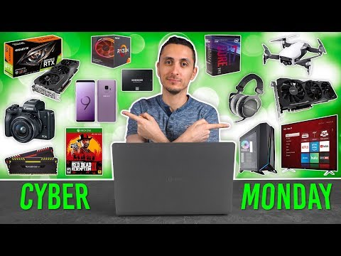 INSANE Cyber Monday Tech Deals - 2018