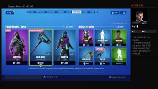 Fortnite item shop trying to get first solo