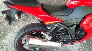 2009 ninja 250r walkaround and review