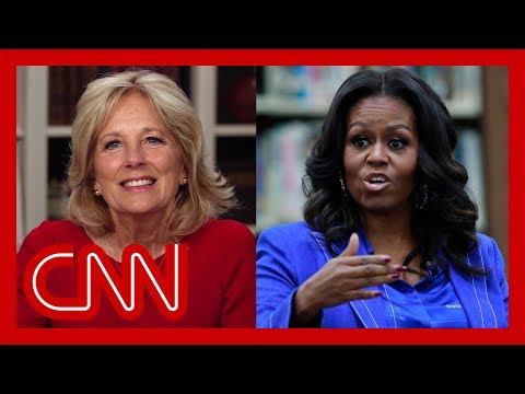 Jill Biden on possibility of Michelle Obama as husband's running mate