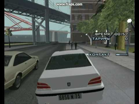 Taxi in GTA san andreas