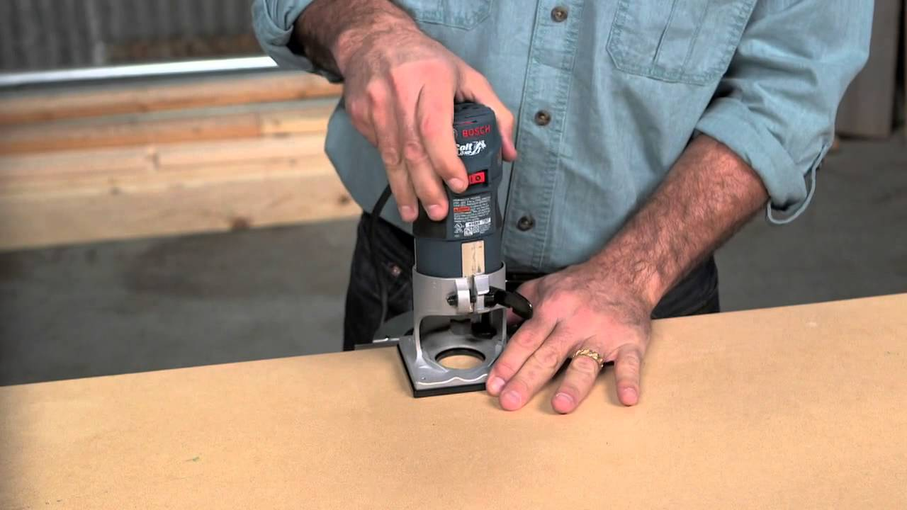 Bosch Power Tools - PR20EVS Colt™ Palm Router Product Video - YouTube
