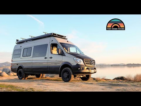 2019 Sportsmobile 4x4 Sprinter Camper Van Tour - The Ultimate Adventure Rig
