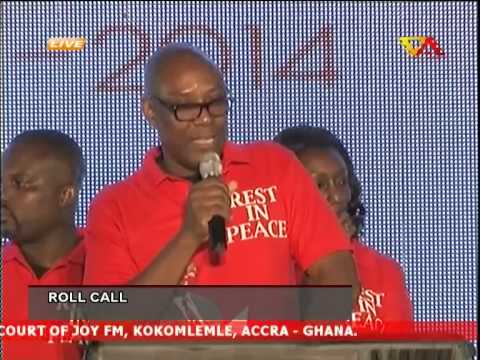 Roll Call at Multimedia Remembers Komla Dumor