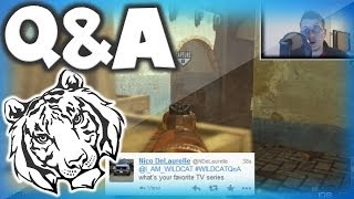 I AM WILDCAT Q&A #8 w/ Face Cam! Questions and Answers! MW3 MOAB on Seatown Gameplay!