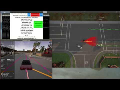 Carla Simulator, autonomous driving system ( Vehicle Navigation)