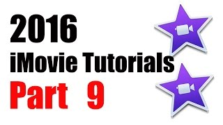 9. How to Picture IN Picture iMovie 10.1 (2016)