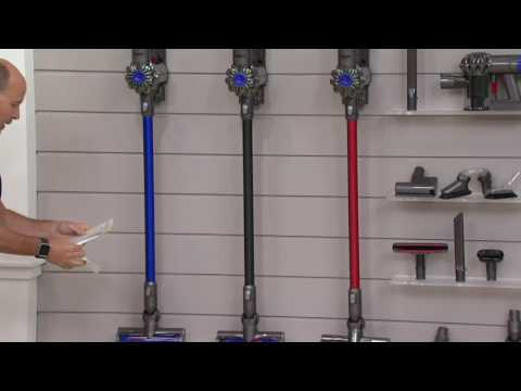 Dyson V6 Absolute Cordless Vacuum w/9 Attachments & Hepa Filter on QVC