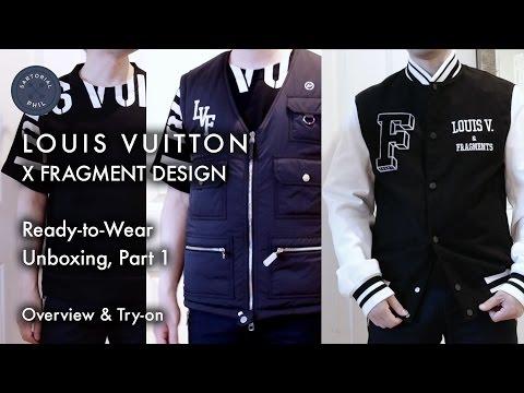d03cd10bd600 Louis Vuitton x Fragment  Varsity Jacket