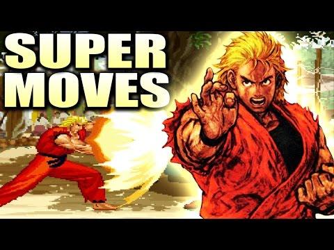 Art Of Fighting 3 All Desperation Super Moves Arcade