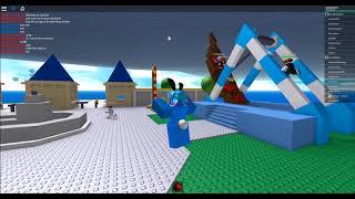 Natural disasters survivor Gameplay[Roblox]