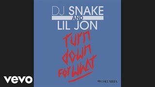 DJ Snake Lil Jon Turn Down for What Audio