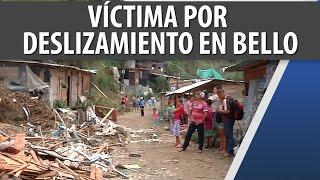 Víctima por Deslizamiento en Bello - Antioquia / Oct 29 2014 / Cosmovisión Noticias