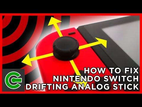 How to Fix Nintendo Switch Drifting Analog Stick