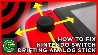 How to Fix Nintendo Switch Drifting Analog Stick