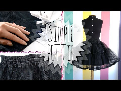 DIY: Making a Petticoat | MeLikesTea thumbnail