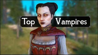 Skyrim: Top 5 Creepy Vampires to Avoid in The Elder Scrolls 5: Skyrim