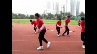 平安福音中學 2011~2012年度 愛社 啦啦隊表演