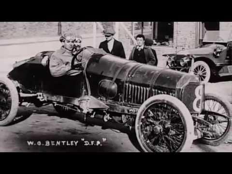 Car Racing 1920 1930 Bentley, Mercedes Benz