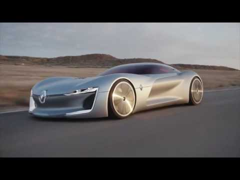 Tesla Killer: The Renault Trezor Electric SUPERCAR - November 2016