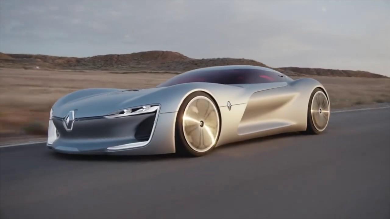 Tesla Killer The Renault Trezor Electric Supercar November