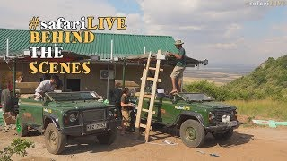 How WE brought YOU the Great Wildebeest Migration!