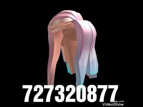 roblox promo codes for hair