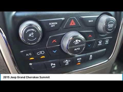 2015 Jeep Grand Cherokee Bartow FL FC808306