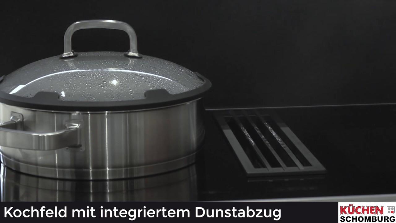Warum ist das Kochfeld mit integriertem Dunstabzug so praktisch   YouTube
